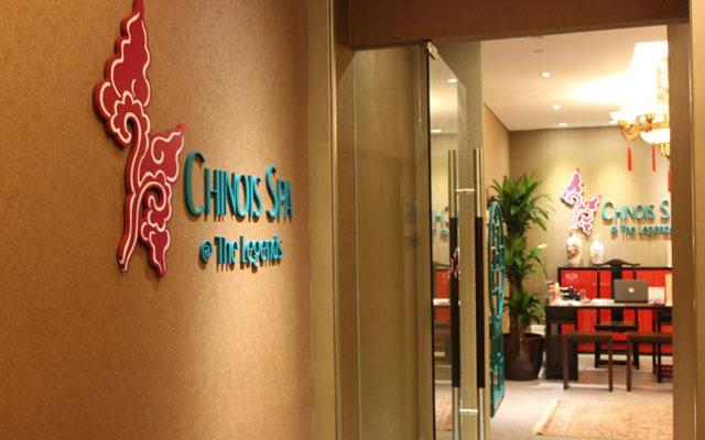 Chinois Spa Fort Canning Hotel Singapore Corridor