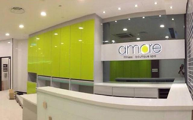 Amore Fitness Boutique Spa Seletar Mall Reception