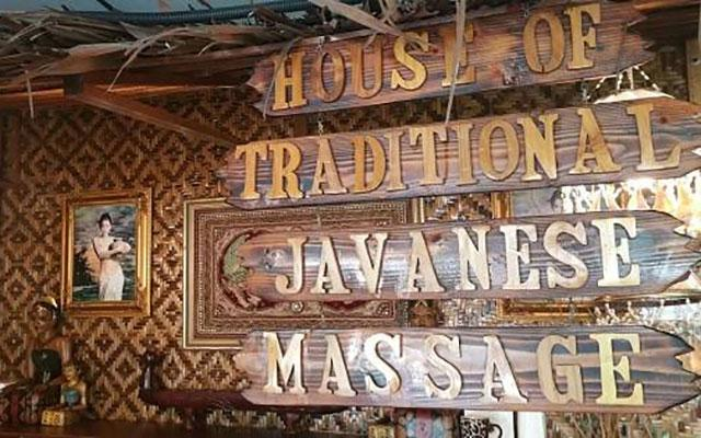 House Traditional Javanese Massage Goldhill Reception
