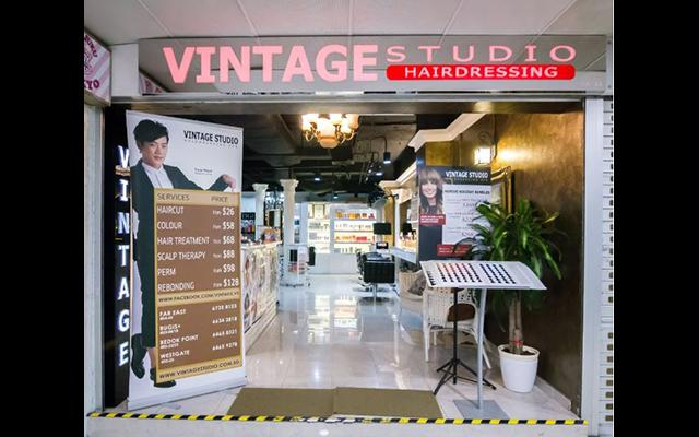 Vintage Studio Hairdressing - Far East Plaza, Singapore